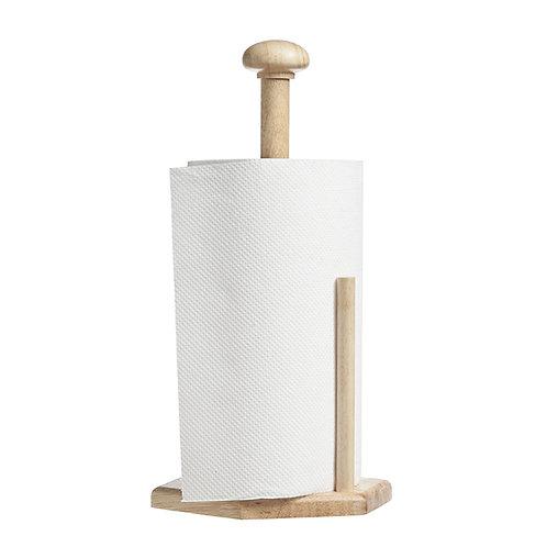 Porte-rouleau en bois h32,3cm