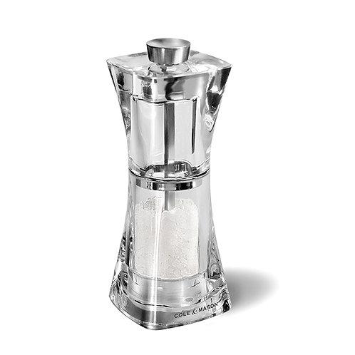 Crystal moulin à sel 12.5 cm