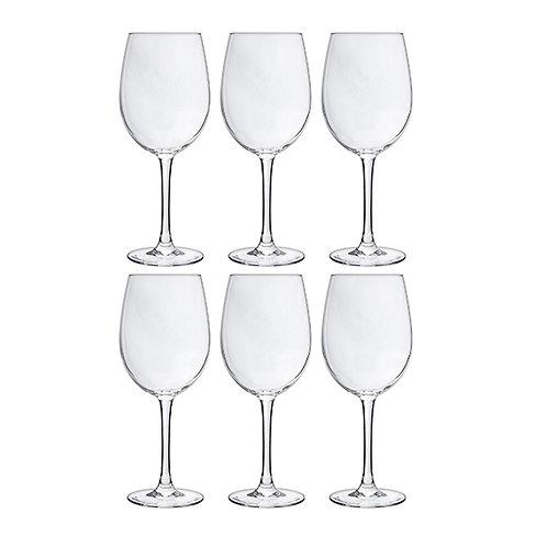Set 6 verres à vin 36cl