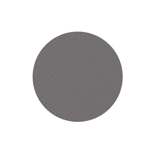 4 sous-verre gris  10 cm