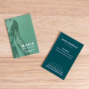 Carte Marie kinésithérapie R/V