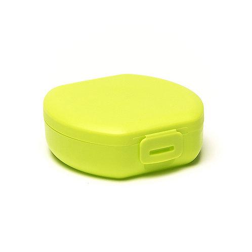 Clip boîte à snack ronde green 11 cm