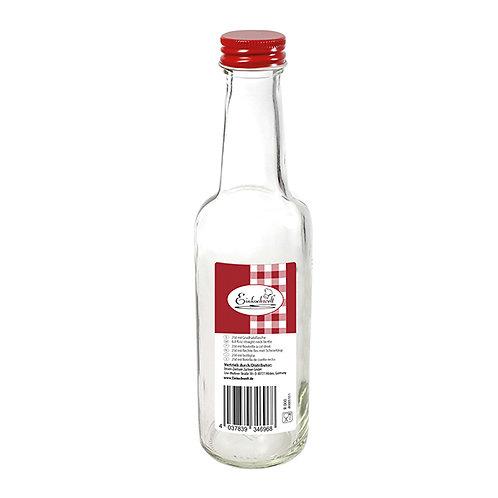 Bouteille avec bouchon à viser 250 ml