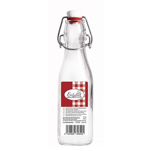 Bouteille avec serre-bouchon 250 ml