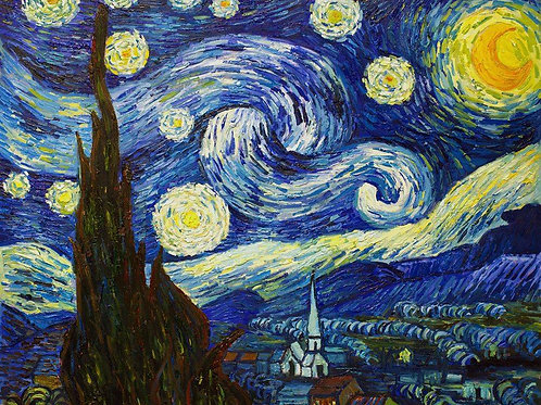 March 23rd Painting The Masters: Vincent Van Gogh