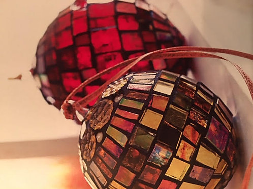 Glass Mosaic Yard Balls September 19