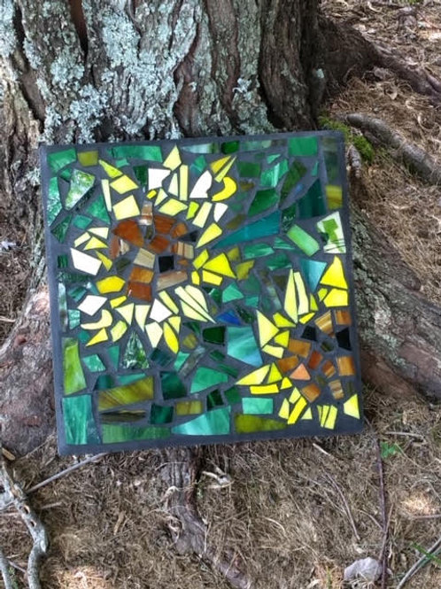 April 7  Glass Mosaics: Stepping Stones