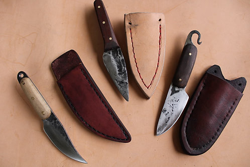 April 15 & 16 Forged Neck Knives