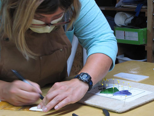 Beginning Stained Glass- Copper Foil Method Starts Sept. 24