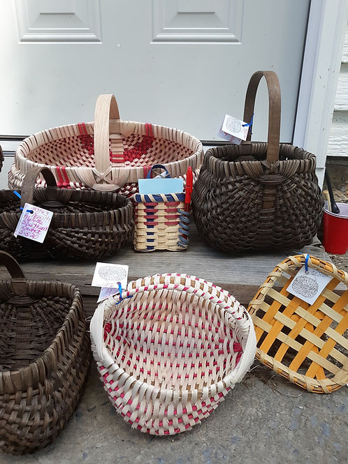 Flat Reed Baskets September 15th