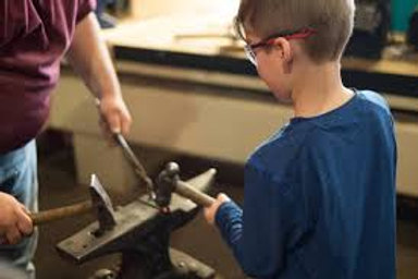 Junior Blacksmith Class August 22nd
