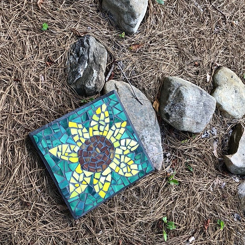March 17 Glass Mosaics: Stepping Stones