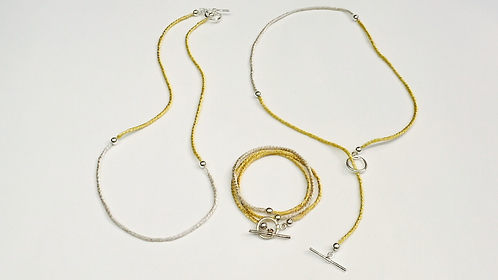 5001-3 Way Necklace & Bracelet