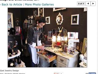 Creita on Newspaper- SF Chronicle