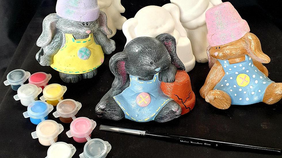 3 girl bunnies
