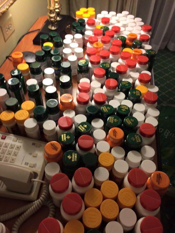 Distributing Vitamins