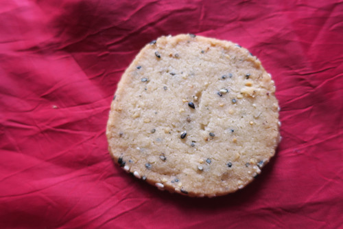 Black Sesame Shortbread