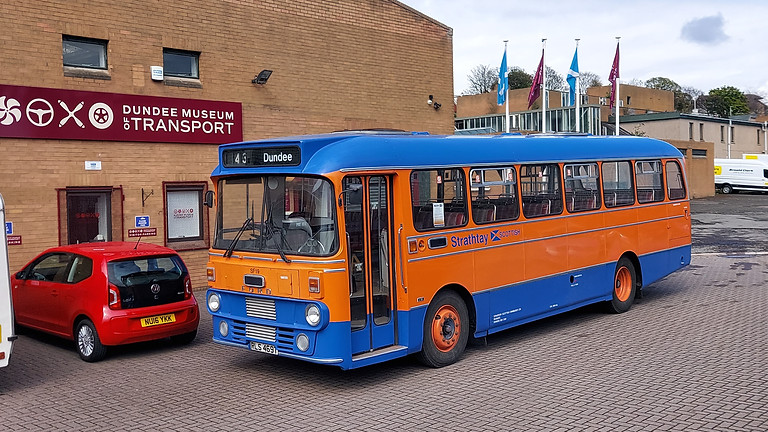 Bus day with Angus Transport Group