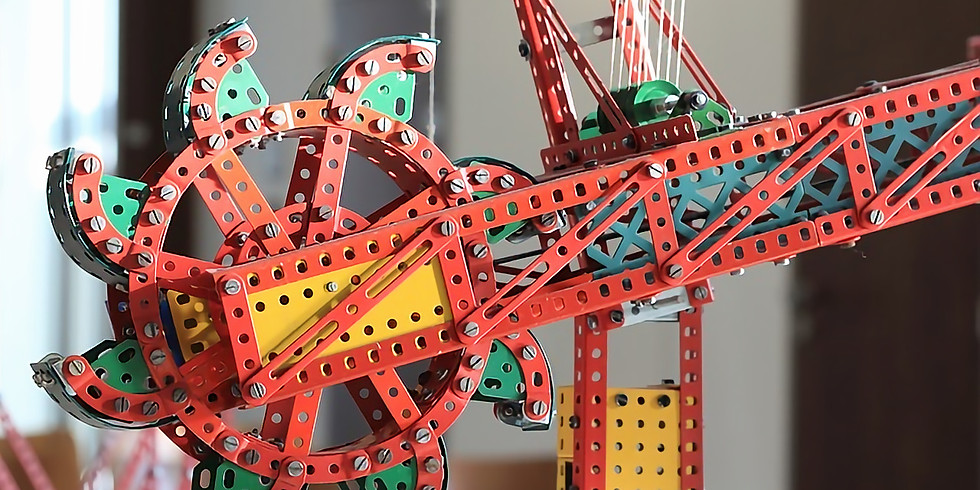 Meccano at the museum