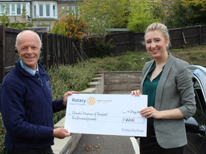Many thanks to Dundee Rotary Club!