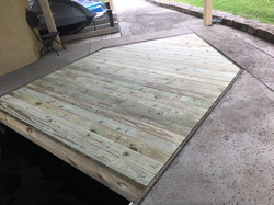 Boat dock repairs and modifications