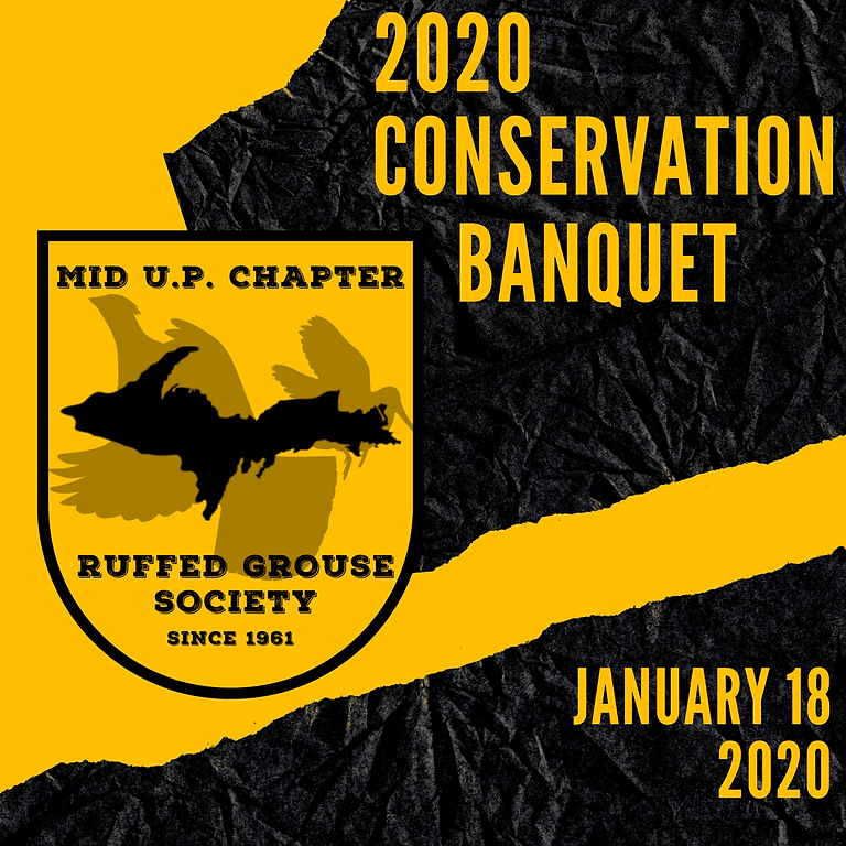 26th Annual Conservation and Sportsmans Banquet