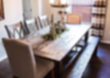 Handmade Dining Tables Hendersonville Nashville