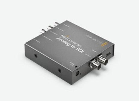 Mini ConverterAnalog to SDI