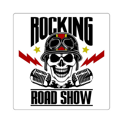Rocking Road Show Square Stickers
