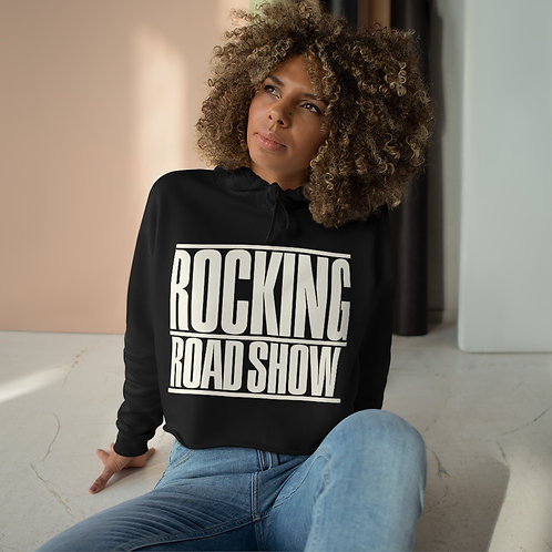 Rocking Road Show Crop Hoodie