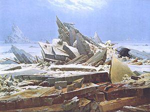 Friedrich's Sea of Ice