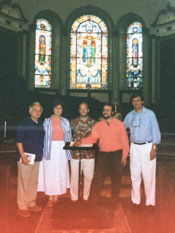 Joe and Nancianne Parella, SW, Andrew Megill, Joe Flummerfelt, Charleston 1996