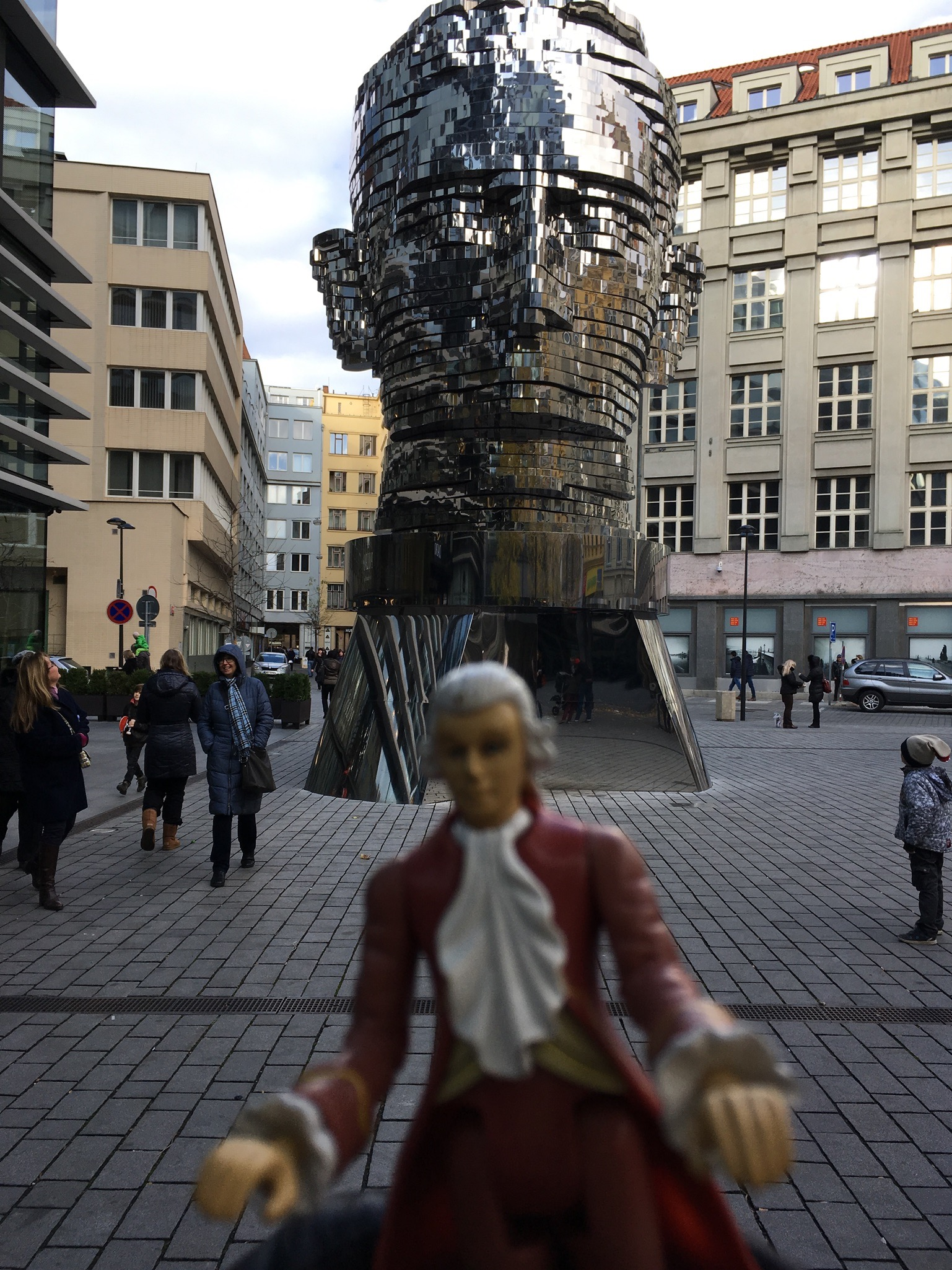 Mini-Mozart w/ Kafka's Head, Prague