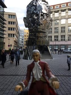 Mini-Mozart w/ Kafka's Head, Prague