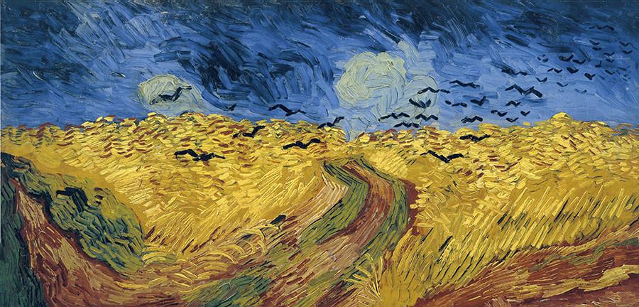 Van Gogh's crows