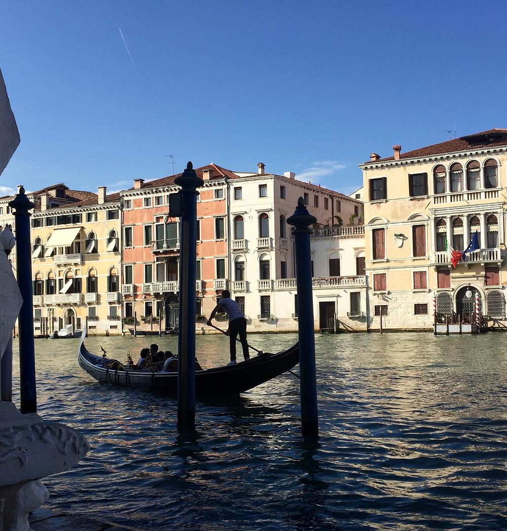 Author photo, Venice, 2016
