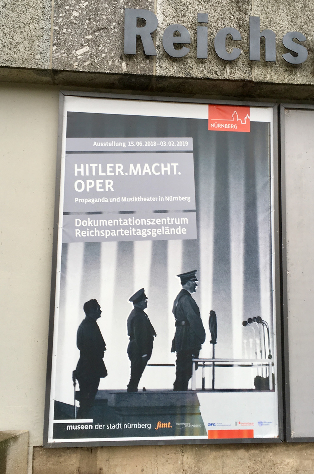 Exhibit at the Nuremberg Museum