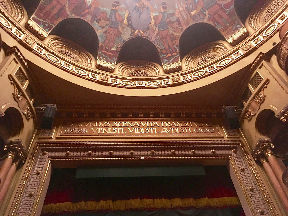Proscenium and lip of dome, Opera Romana