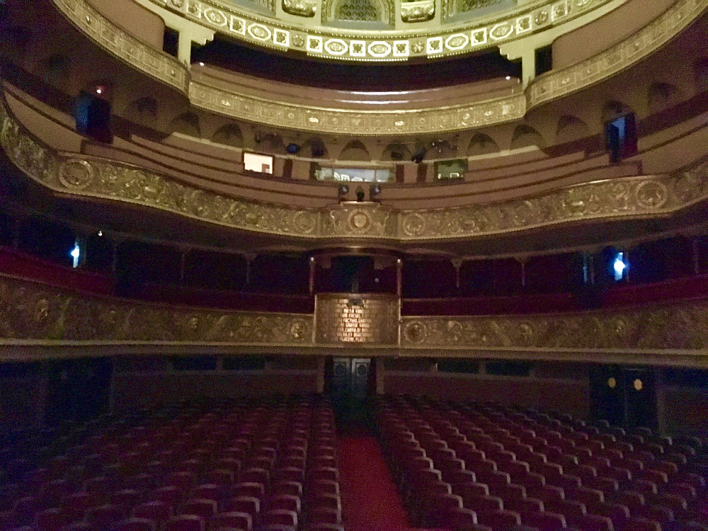 The beautiful house of the National Theatre Opera Romana