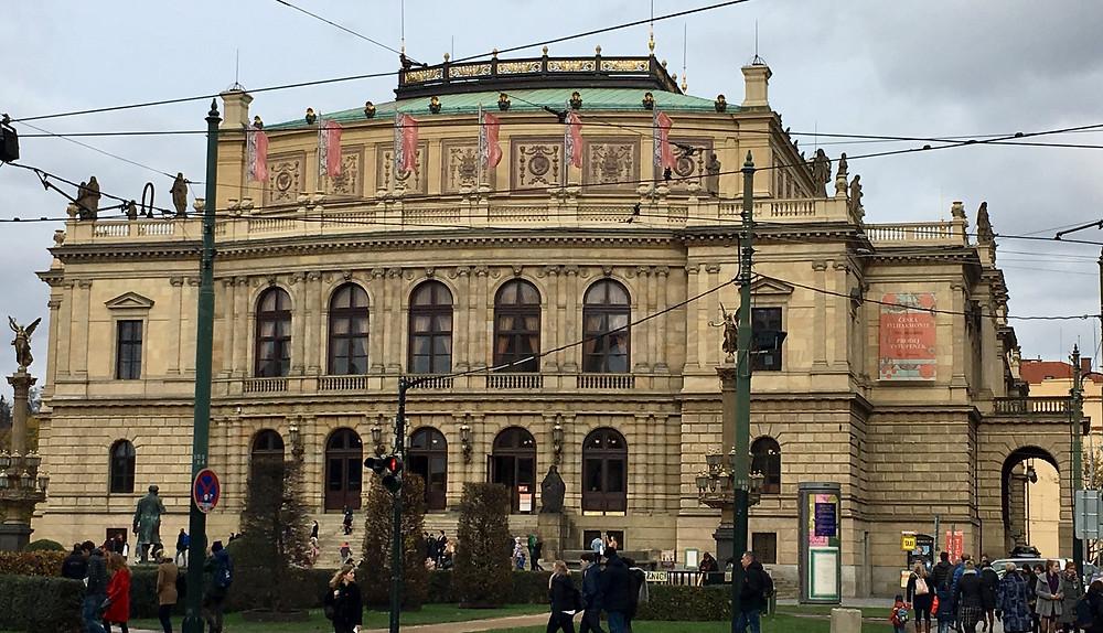Rudolfinum, home of Czech Phil's Dvorak Hall