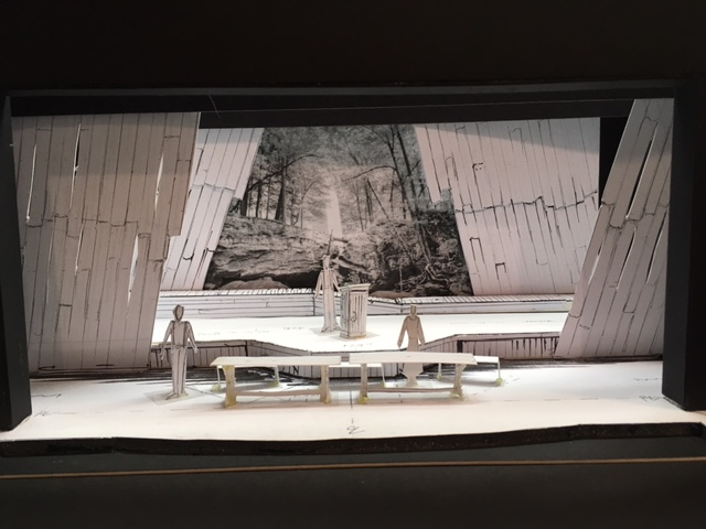 Jimmy Ward's set model for Susannah