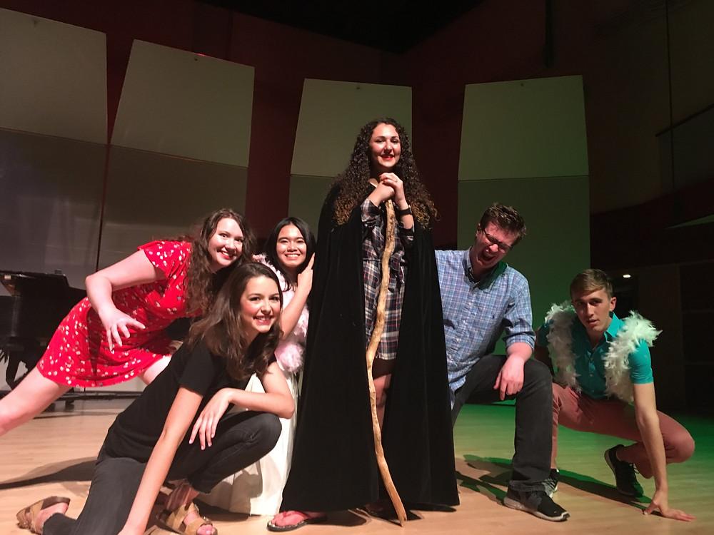 WLU Fantastic Opera Scenes cast, May 2019
