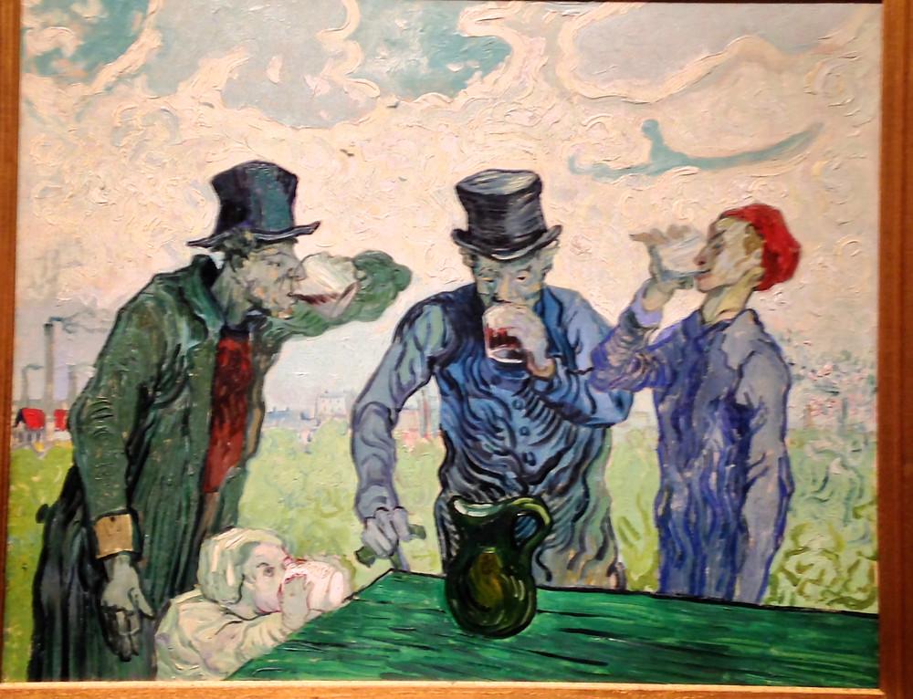 Van Gogh's drinkers