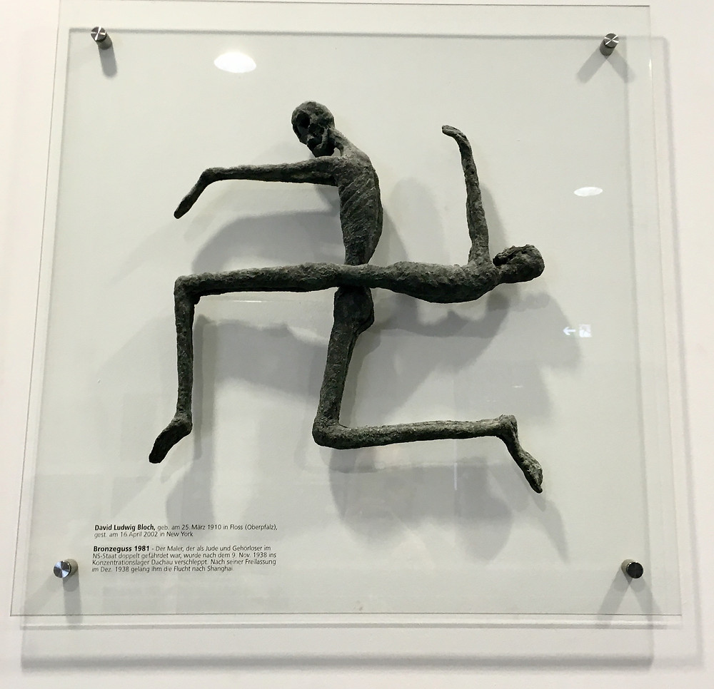 David Bloch's sculpture in the Dachau museum