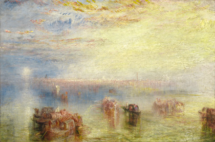 """Turner's """"Approach to Venice"""""""