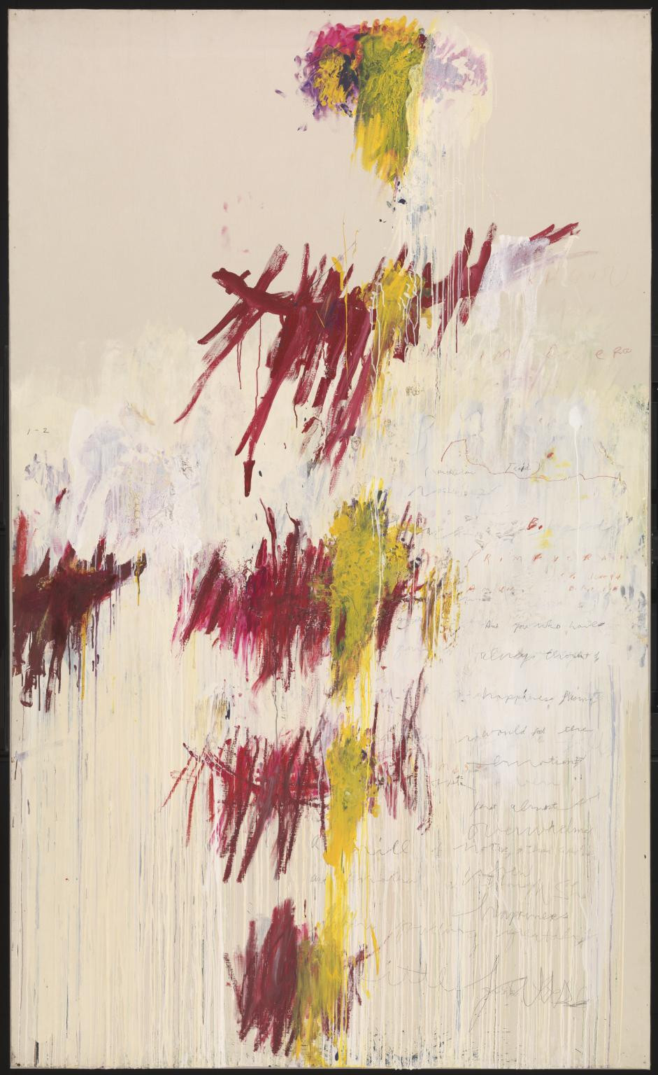 Twombly: Primavera (Quattro Stagioni, Tate version)