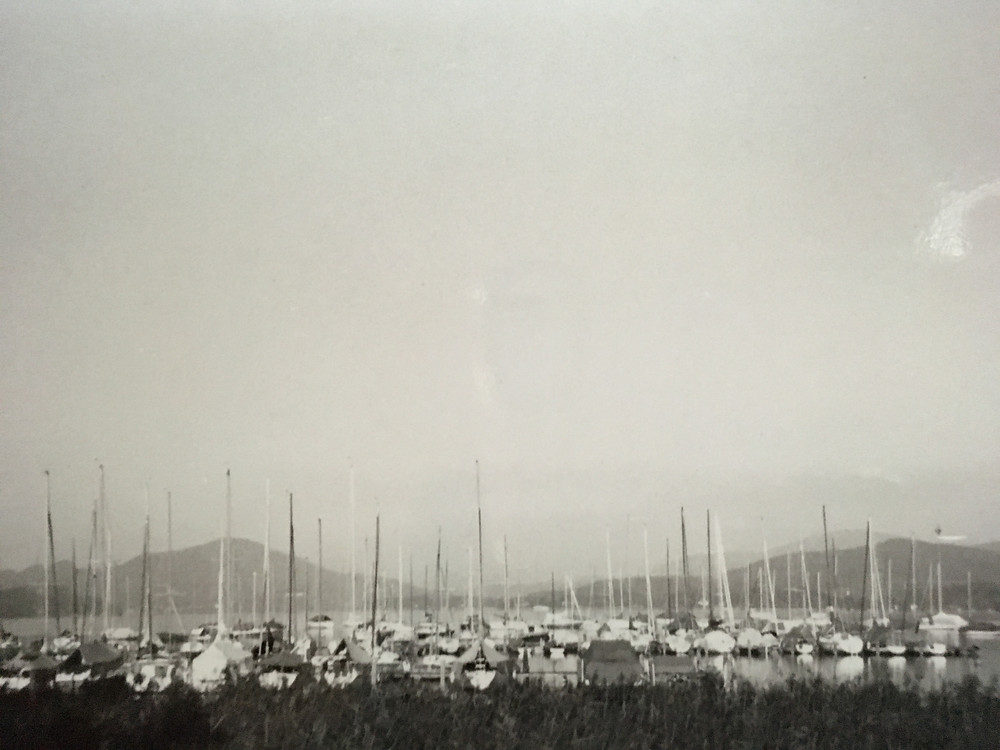Wörthersee, 1996; personal b&w photograph