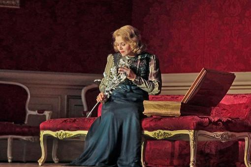 Renée Fleming as the Marschallin in the MET's new Rosenkavalier
