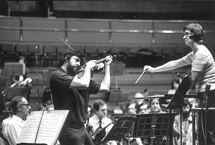 Thea conducting Peter...
