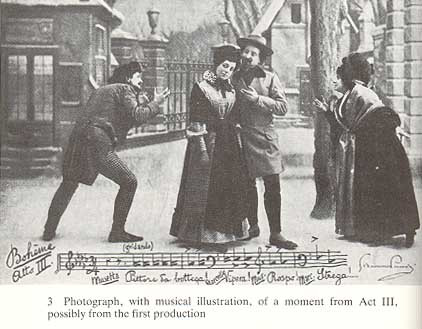 Act 3 production photo from one of the original productions